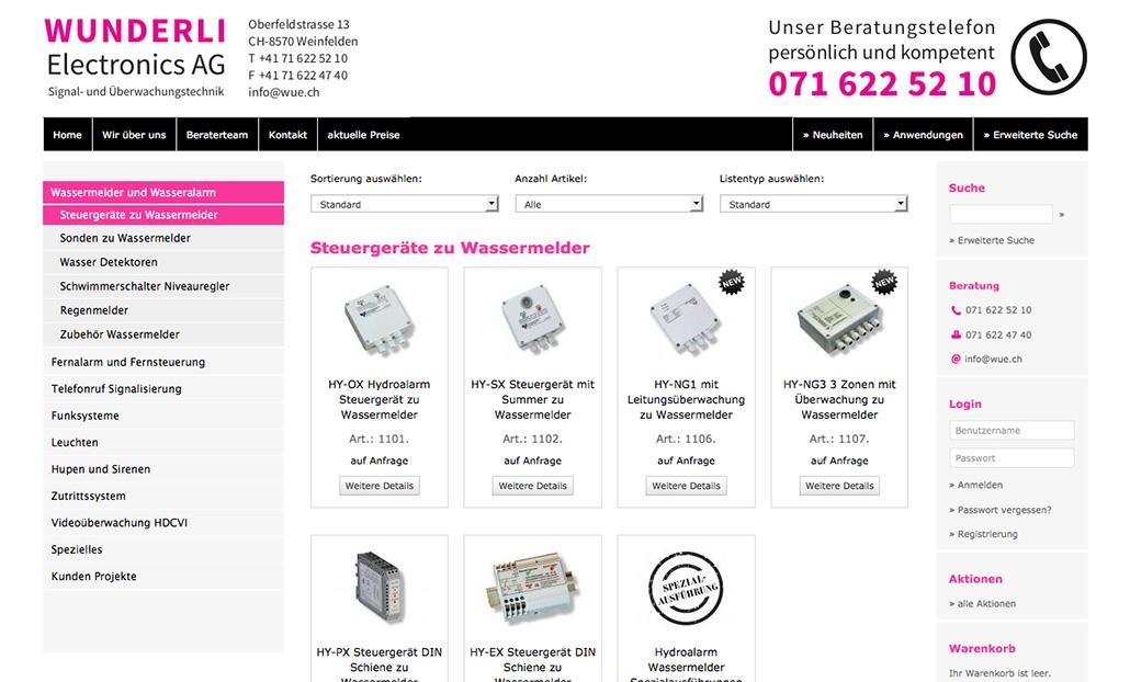 Tradino Referenz Wunderli Electronics Ag 2