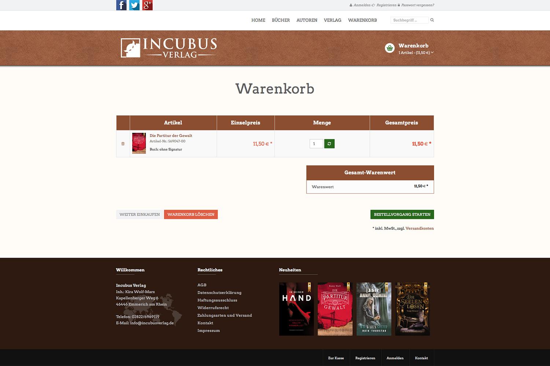 Tradino Referenz Incubus Verlag 3